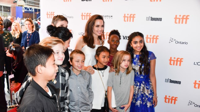 Angelina Jolie Toronto filmifestivalil.