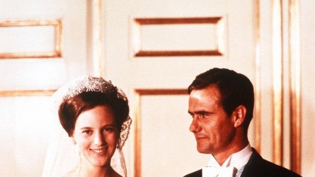 POOL SAJANDIT ABIELU: Taani printsess Margrethe ja prantsuse aadlik Henri Marie Jean André de Laborde de Monpezat abiellusid 10. juunil 1967. Järgmise aasta mais sündis kroonprints Frederik, 1969. aasta juunis prints Joachim.