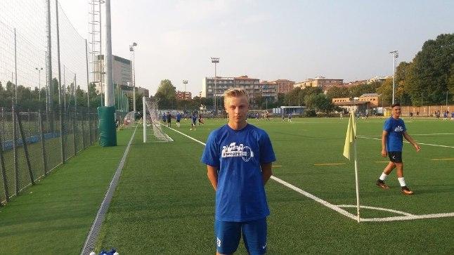 Patrick Genro Veelma testimisel Itaalia Serie D klubi Pro Sesto juures.