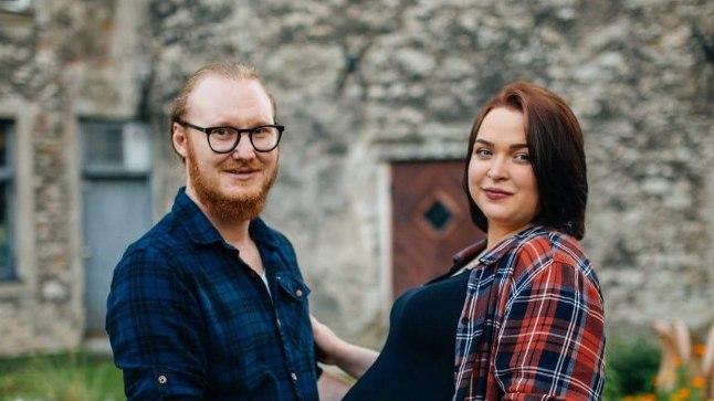 VÄRSKED LAPSEVANEMAD: Anita Jaansoni ja tema elukaaslase, Suurbritanniast pärit Chad Palmeri pisipoeg sündis 9. septembri õhtul kell 17.36.