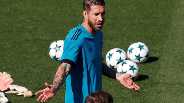 Sergio Ramos ei saa sinna midagi parata, talle lihtsalt meeldib peaga palle võrku koksata.
