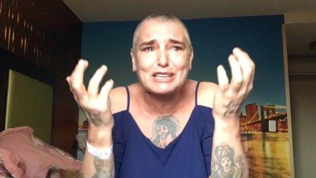 Augusti algul avaldas Sinead sotsiaalmeedias video, kus rääkis oma enesetaputungist.