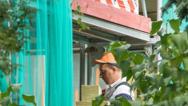RAHVUSVAHELINE: Pikk 82 majas tegid osa küttesüsteemiste lätlased ja praegu soojustavad seal maja ukrainlased.