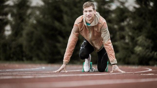 VALMIS: Kiirelt arenenud Tony Nõu ihkab tulevikus läbida 400 meetrit alla 45 sekundi.