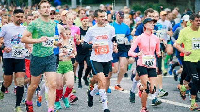 В марафоне приняли участие свыше 18 000 поклонников этого вида спорта из всех уездов Эстонии и рекордного числа зарубежных государств — 56.
