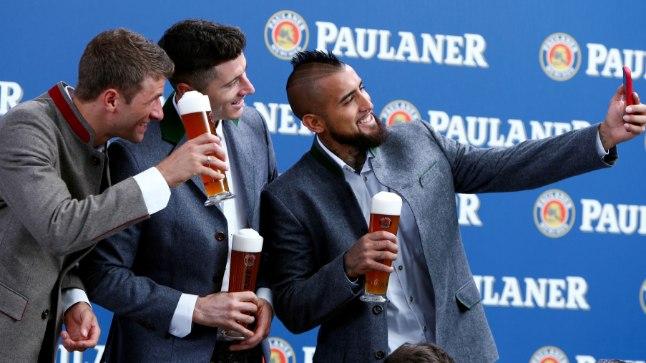 Müncheni Bayerni jalgpallimeeskond.
