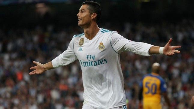 Cristiano Ronaldo avas APOELi vastu mänguskoori.