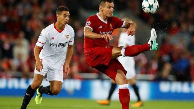 Dejan Lovren (punases) saab täna ilmselt kõvasti nahutada. Eriti, kui Liverpool ei võida.