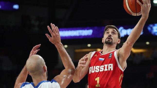 Venemaa - Kreeka 74:69.