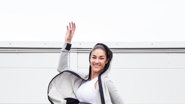 TRENN OLGU JÕUKOHANE: Polina leiab, et trennist tuleb tunda rõõmu ja ka pärast trenni võiks mõnus olla, mitte pilt ülepingutamisest must.