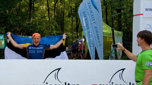 Rait Ratasepp kümnekordse ultramaratoni finišis