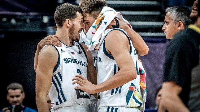 Goran Dragic (vasakul) ja vaid 18aastan Luka Doncic on Sloveeniat vedanud. Kas edulugu jätkub Hispaania vastu?