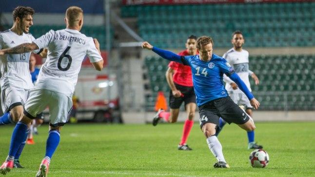Eesti jalgpall on teinud tubli tõusu.