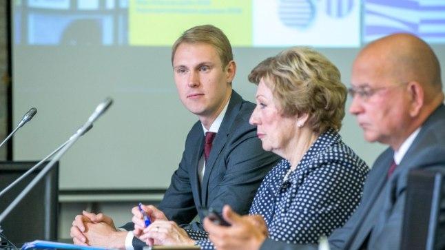 Põhja-Tallinna vanem Raimond Kaljulaid saab erakondade rahastamise järelevalve komisjonilt märgukirja