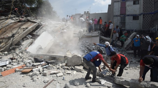FOTOD, VIDEOD   Mehhikos oli taas võimas maavärin, hukkunute arv kasvab