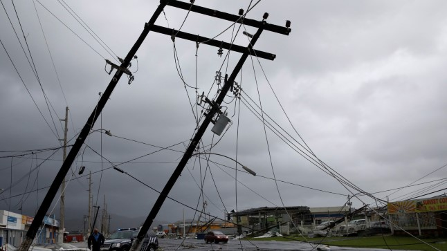 Maria laastas Puerto Ricot ja jättis kogu riigi elektrita