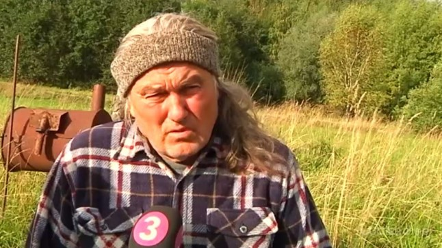 Talupidaja, kirjanik ja ilmatark Jaan Pulk ehk Pulga Jaan.
