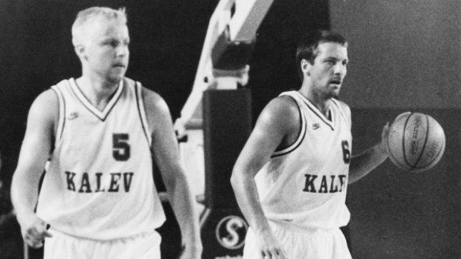 Aivar Kuusmaa (vasakul) ja Tiit Sokk viskasid kahe peale mängus keskmiselt 44,5 punkti.