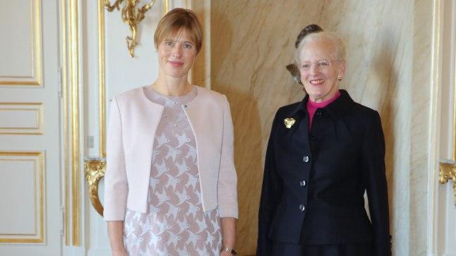 Kersti Kaljulaid ja Taani kuninganna Margrethe II