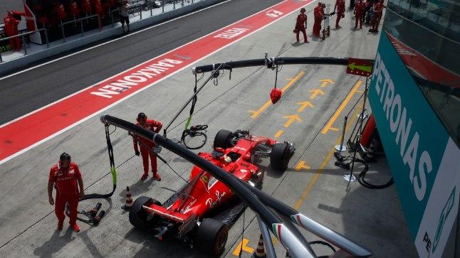 Ferraride jaoks hästi alanud hooaeg on viimasel ajal lörri läinud.