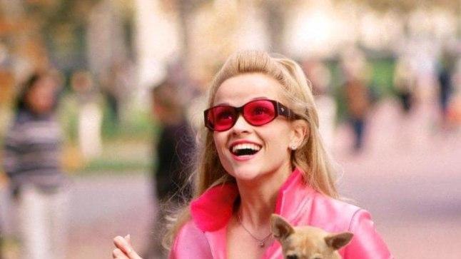 Кадр из кф «Блондинка в законе»