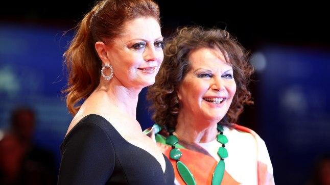 Susan Sarandon ja Claudia Cardinale