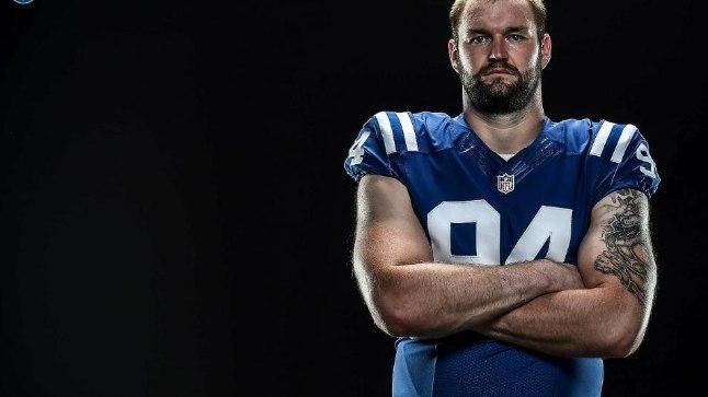 <p>Vaim valmis! Märtsis uue klubi leidnud Margus Hunt alustab NFLis juba viiendat hooaega.</p>