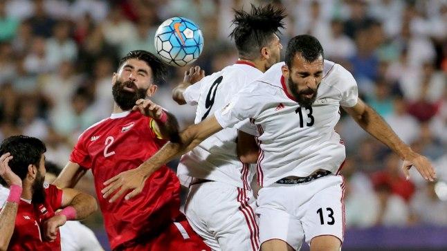e94fbcd915f Iraani ja Süüria pallurid leppisid eile palliplatsil võitlusliku viigiga.
