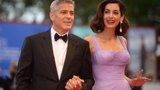 Amal ja George Clooney