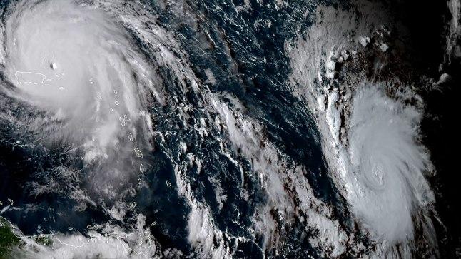 Irma (fotol vasakul) ja Jose