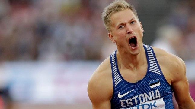 Janek Õiglase särav etteaste Londoni olümpiastaadionil tõi talle MMi neljalnda koha.