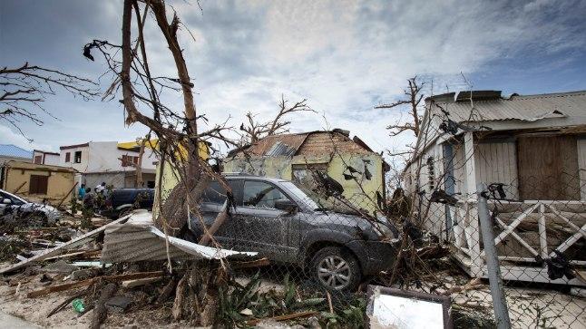 Saint Martin pärast orkaan Irmat