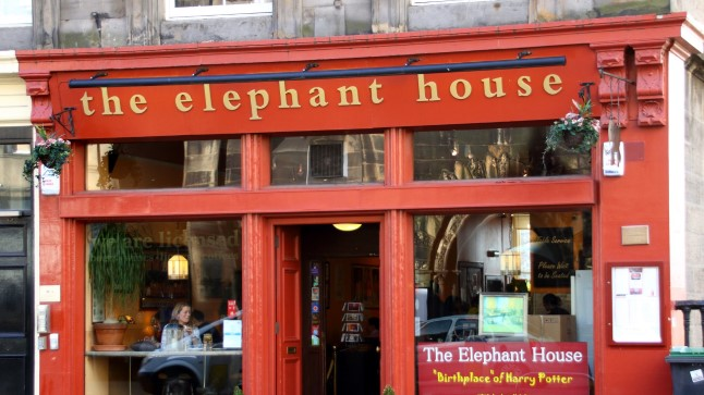 Elephant House'i kohvik Edinburghis.