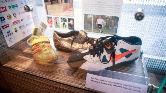 Eesti heitealade ja mitmevõistluse ajalugu tutvustav näitus
