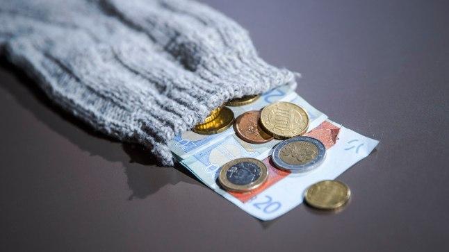 Raha sukasääres. (Pilt on illustratiivne)