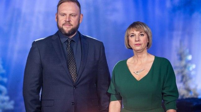Saatejuhid olid tänavu Urmas Vaino ja Margit Kilumets.