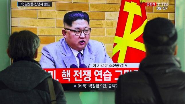 Põhja-Korea liidri Kim Jong-uni uusaastatervitus.