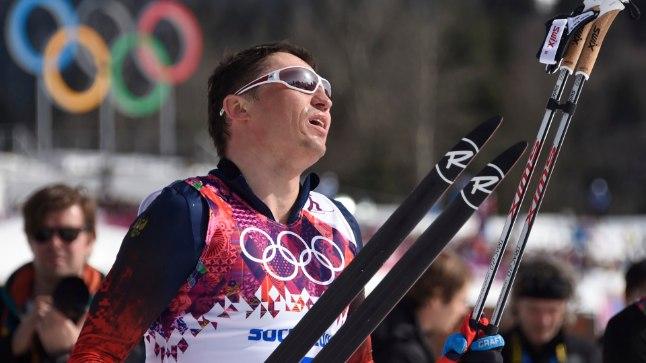 Aleksander Legkov Sotši olümpial.