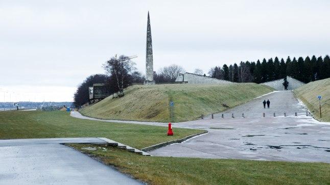 Maarjamäe nõukogudeaegse memoriaali kordategemine nõuab hinnanguliselt miljon eurot. Tiina Kõrtsini (Õhtuleht)