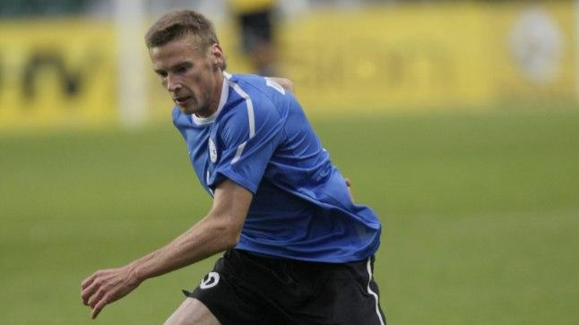 Eesti koondises 105 mängu pidanud 35-aastane Aleksandr Dmitrijev liitus hooaja eel Floraga. Mati Hiis (Õhtuleht)