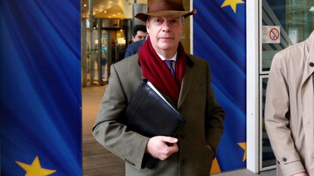 Nigel Farage ajab praegu Brexitiga seoses asju Brüsselis.