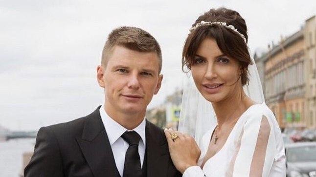 Andrei Aršavin ja tema abikaasa Alissa.
