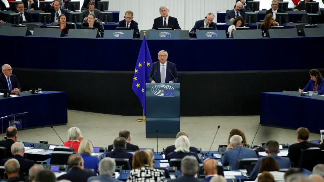 Фото иллюстративное. Европейский парламент.