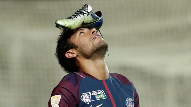 Niimoodi tähistas Neymar üleeile löödud väravat.