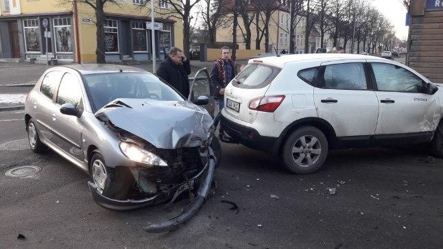 Liiklusõnnetus 12. jaanuaril.