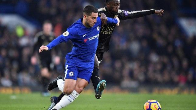 Eden Hazard ei suutnud Chelseat võidule aidata.