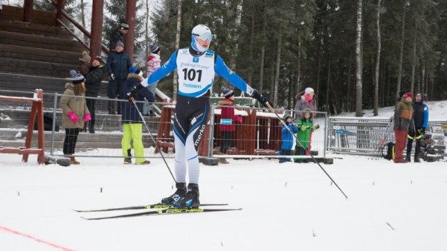 Andreas Veerpalu tuli Eesti meistriks.