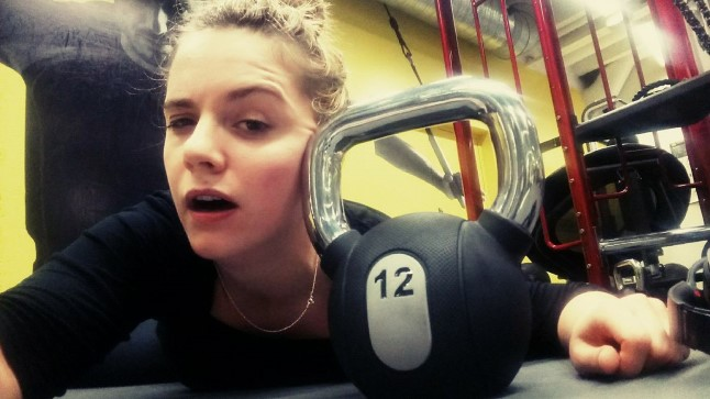 MINU UUSAASTALUBADUSE BLOGI | Näitleja Piret Krumm vormistas rasked treeningud vahvaks luulereaks