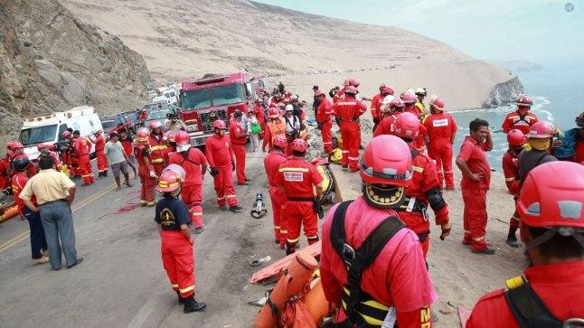 Bussiõnnetus Peruus