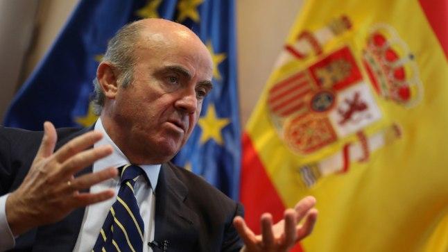 Hispaania majansusminister Luis de Guindos